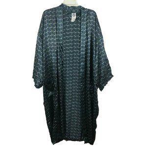 Reckless Women's Long Sleeve Open Front Kimono